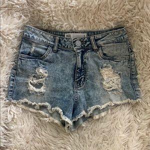 Tully's RSQ Maui High Rise Denim Shorts